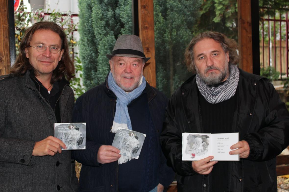 David Rotter, Peter Lipa a Marek Ormandík