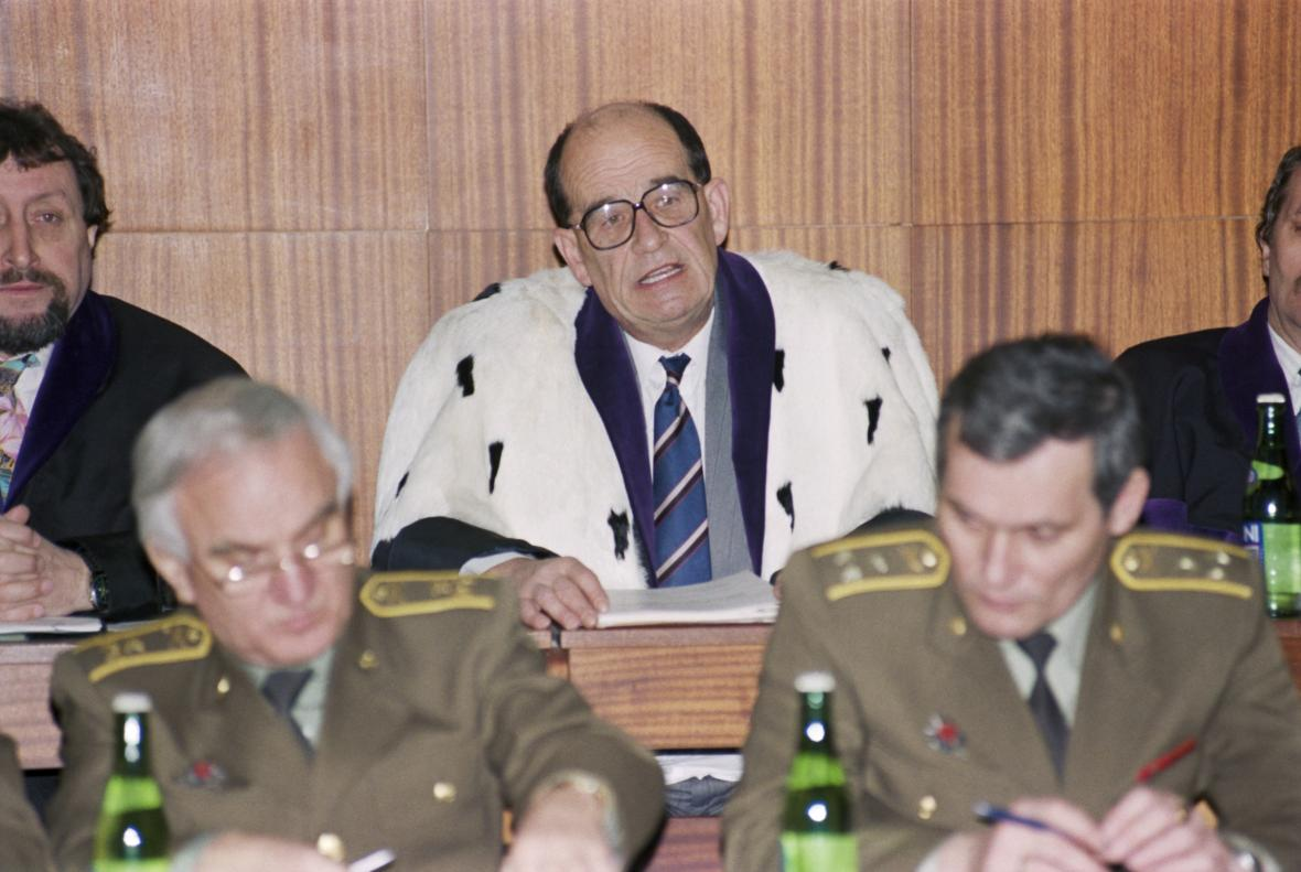 Otakar Motejl jako soudce Nejvyššího soudu