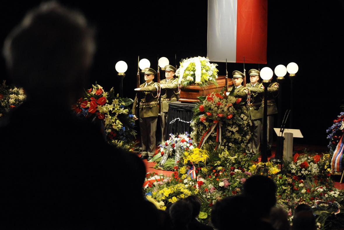 Pohřeb Otakara Motejla