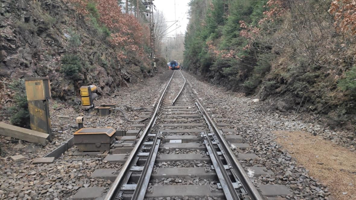 Poškozená trať