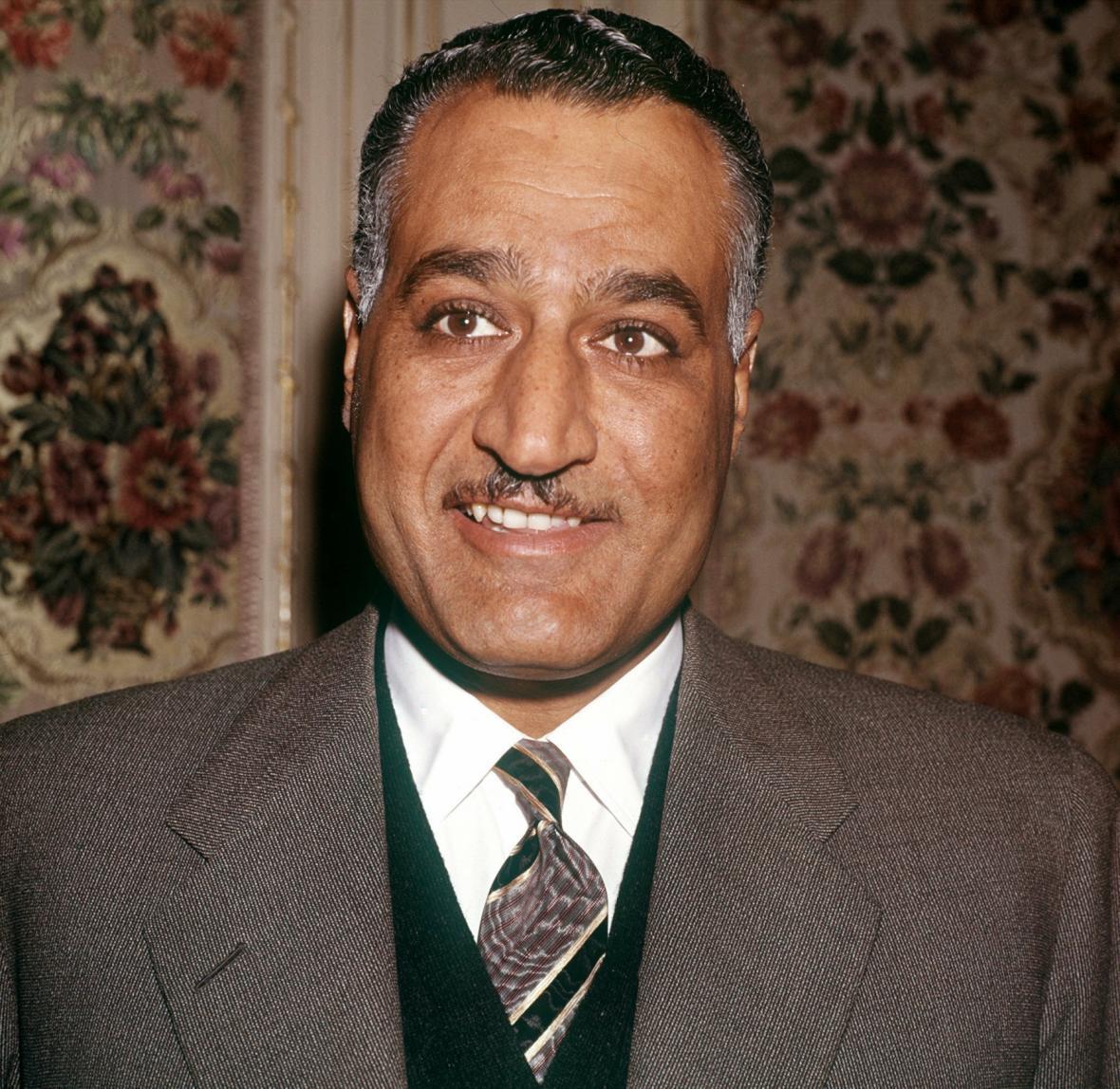 První egyptský prezident Gamál Abdan Násir