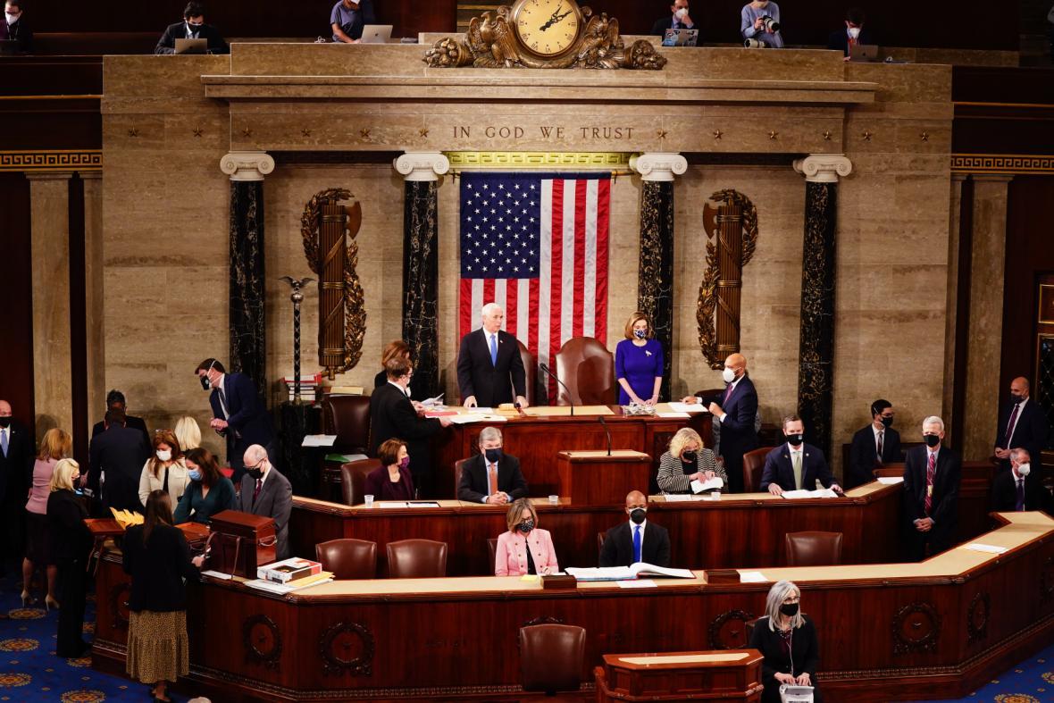 Kongres projednával sčítání volitelů