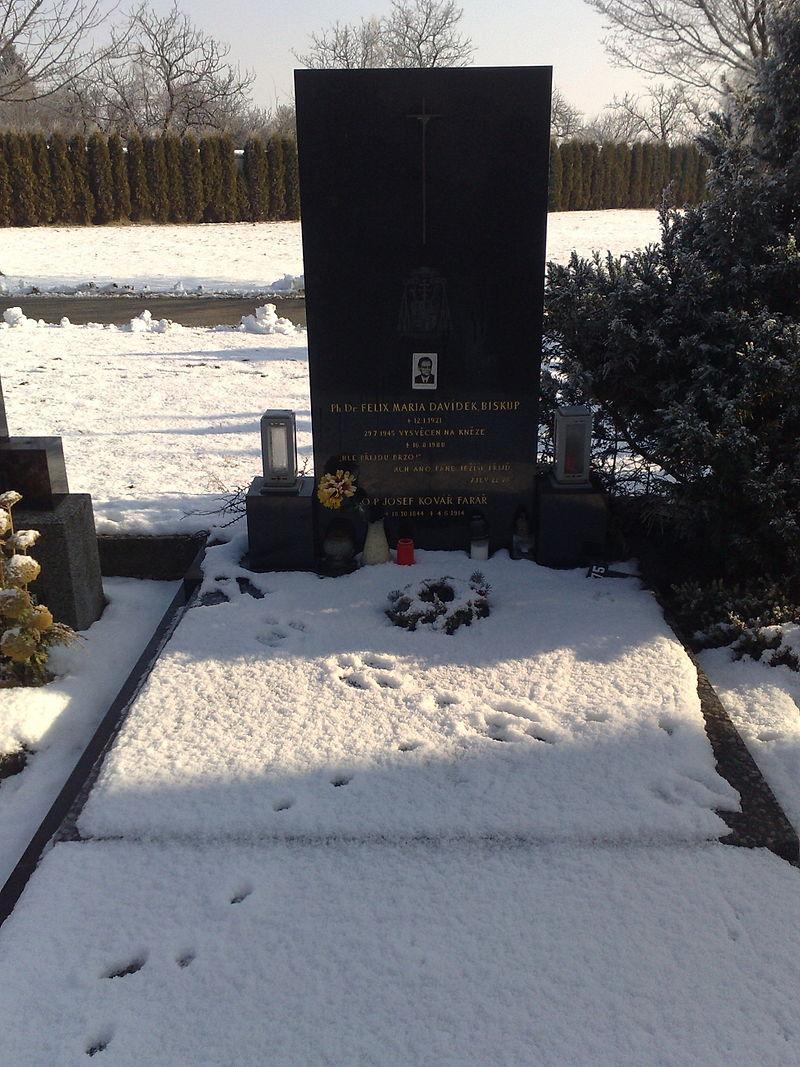 Davídkův hrob na Tuřanském hřbitově