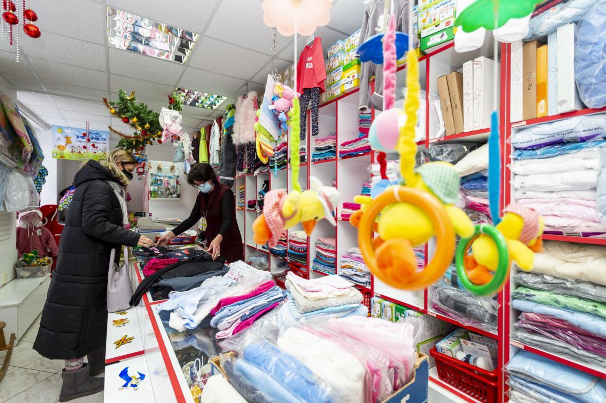 Otevřel i obchod s dětským a kojeneckým zbožím v Litvínově