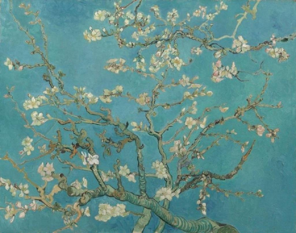 Kvetoucí mandloň (1890)