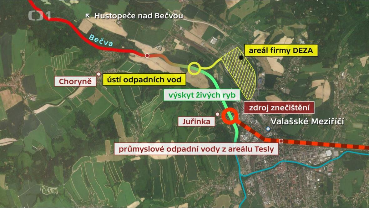 Bečva_mapa
