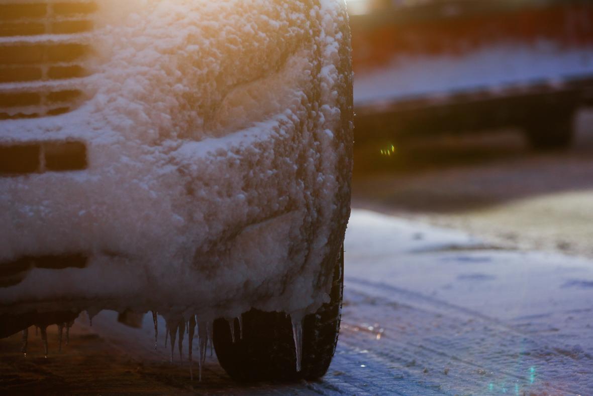 Německé Hanau zasáhla ledovka