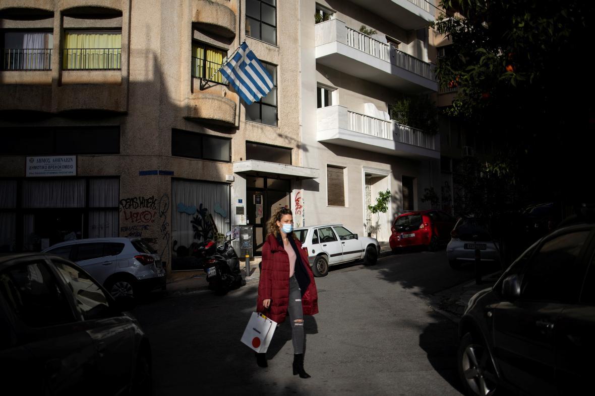 Atény během pandemie