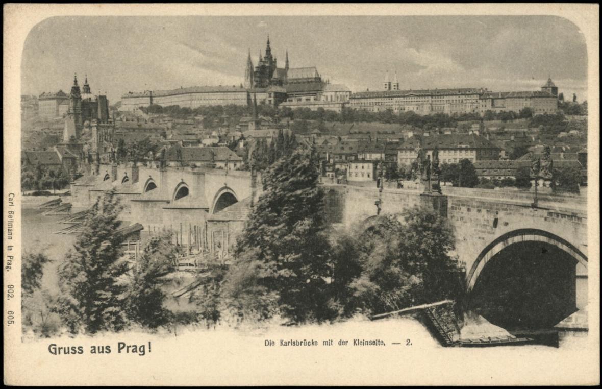 Praha v prvních letech 20. století