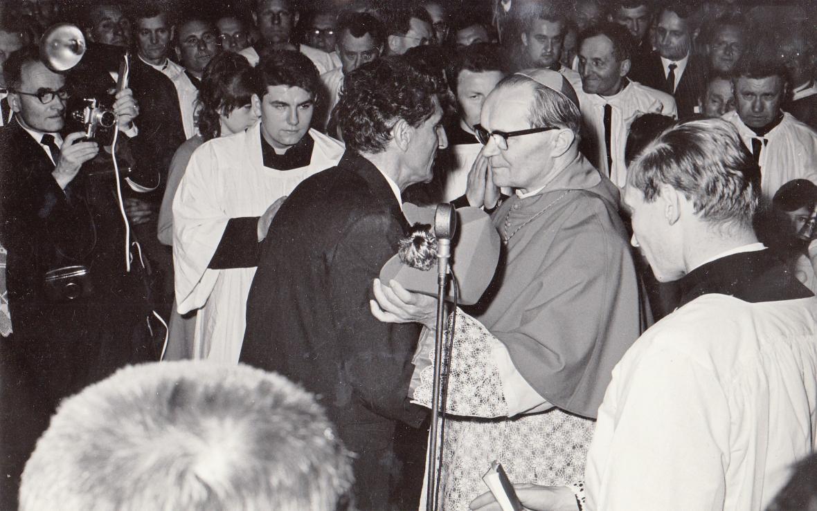 Návrat Josefa Hloucha do Českých Budějovic (1968)