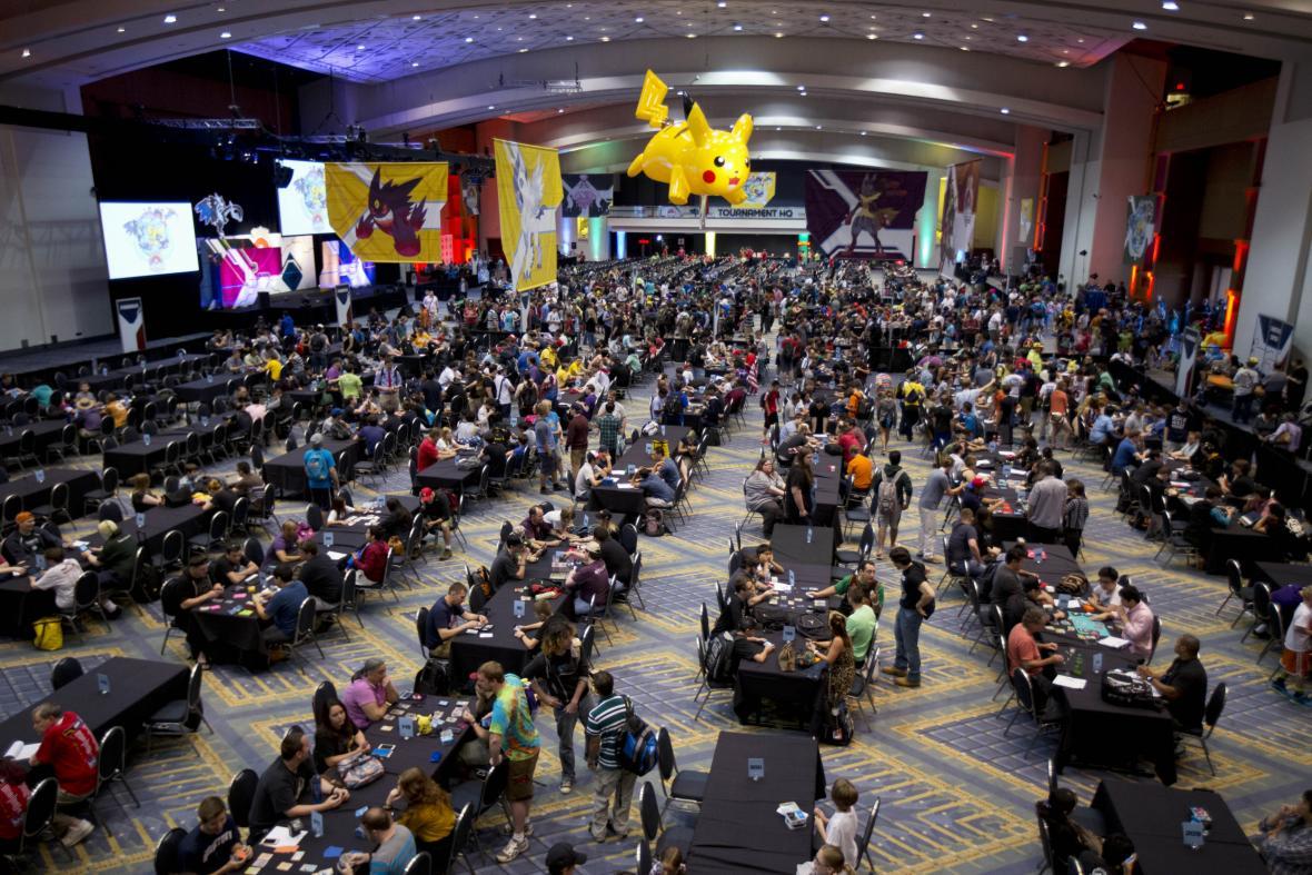 Turnaj o poslední možnost se účastnit světového mistrovství v karetní hře Pokémon v roce 2014