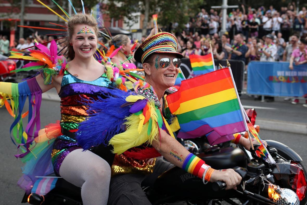 Fotografie z loňského průvodu Mardi Gras v Sydney