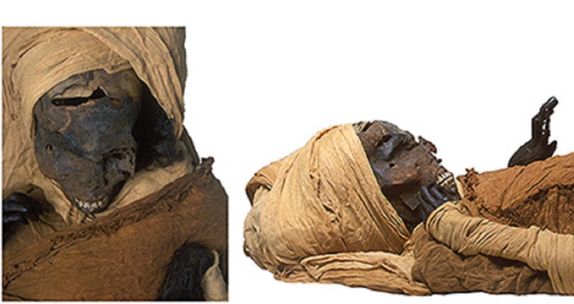 Mumie faraona Sekenenre Tao