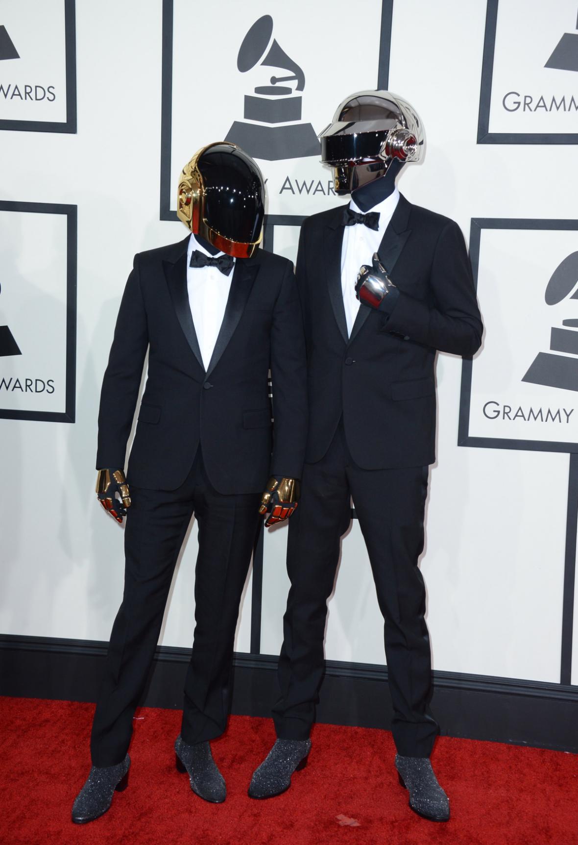 Daft Punk na předávání Grammy