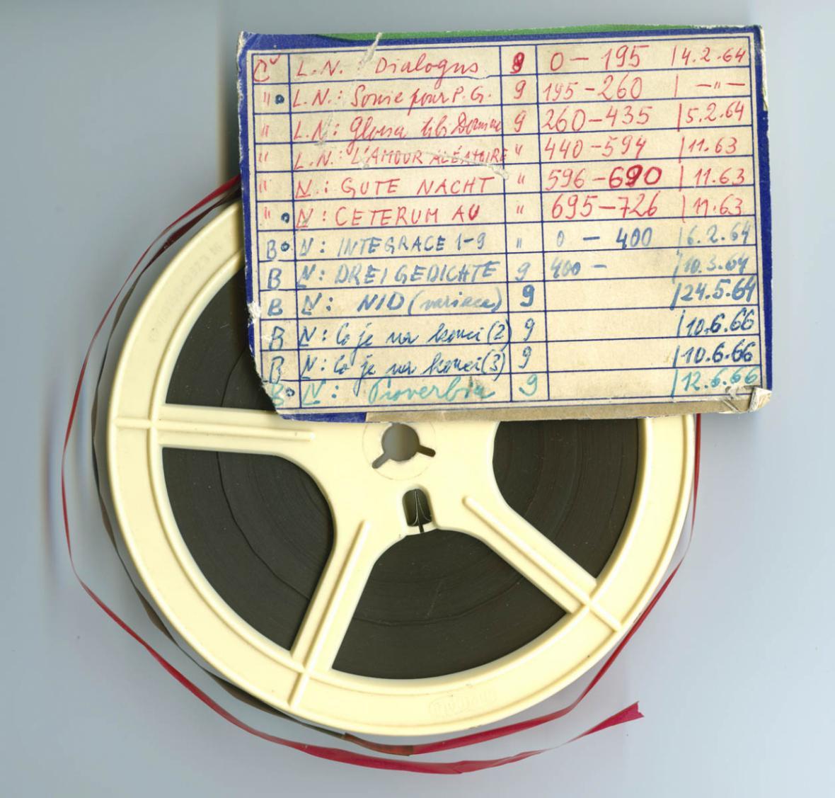 Ladislav Novák / Magnetofonový pásek