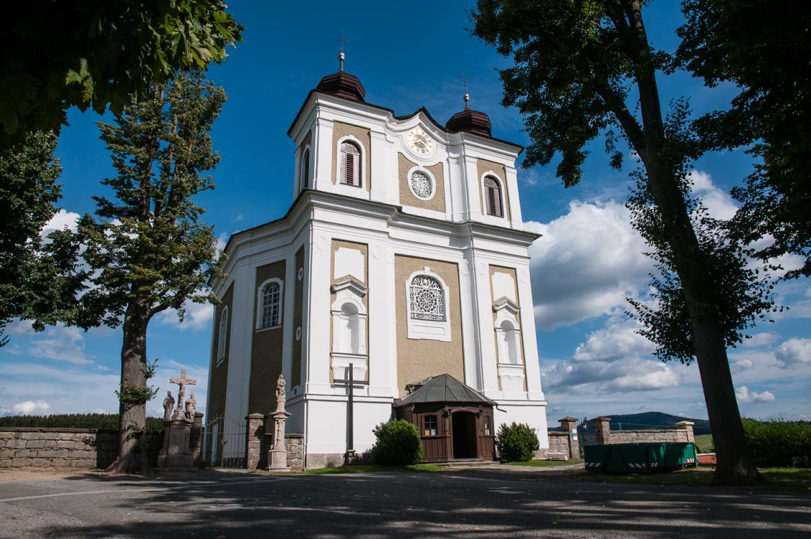 Kostel svatého Prokopa v Bezděkově nad Metují