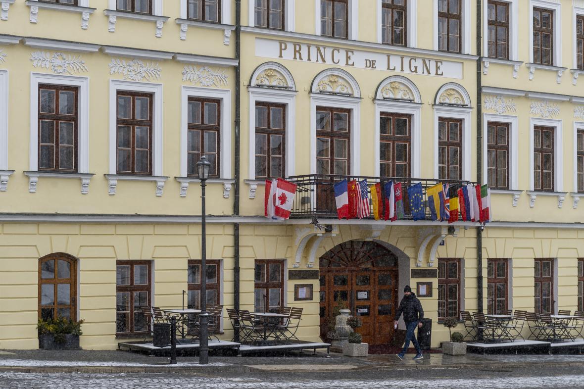 Teplický hotel Prince de Ligne
