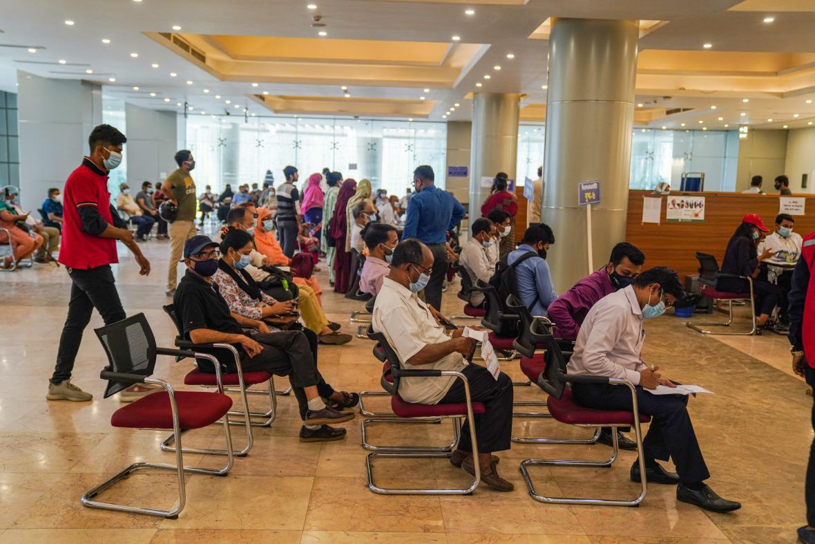 Očkování proti koronaviru v Bangladéši