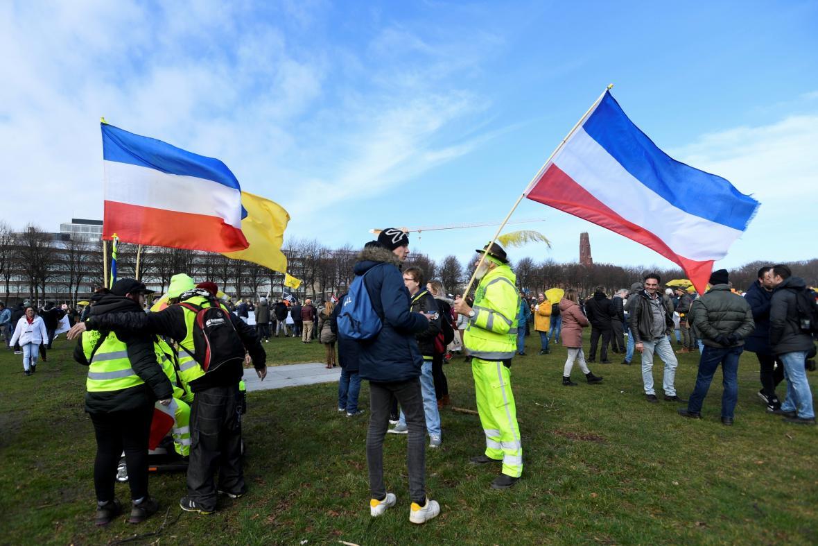 Demonstrace v Haagu