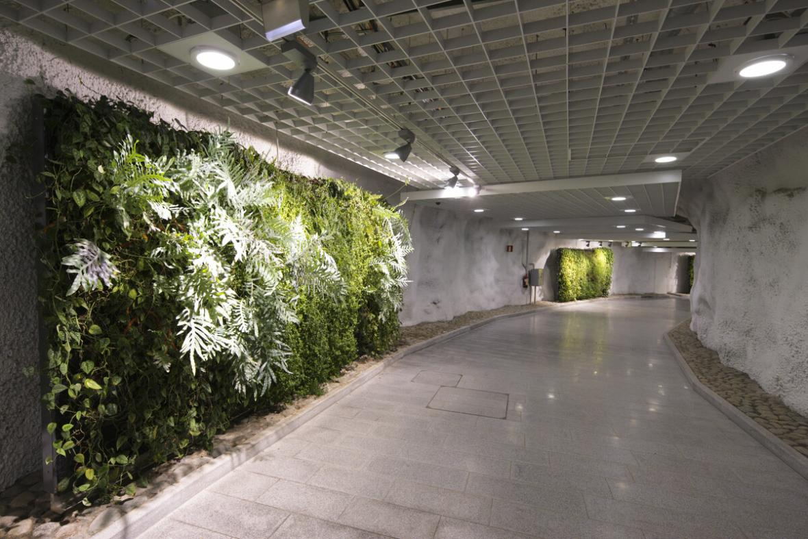 Podzemní podchod pod Helsinkami