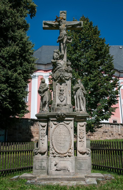 Kříž v Božanově na Broumovsku