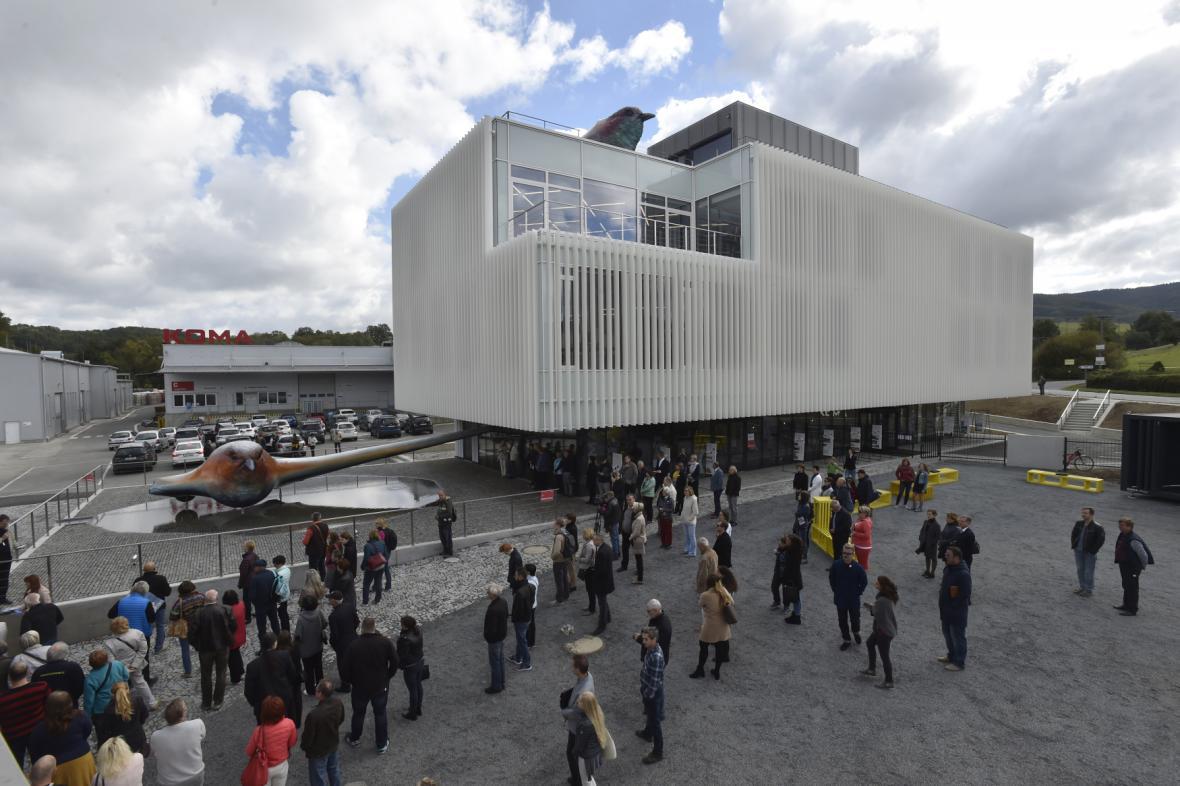 Pavilon pro Expo 2015 v Miláně dnes slouží jako administrativní budova