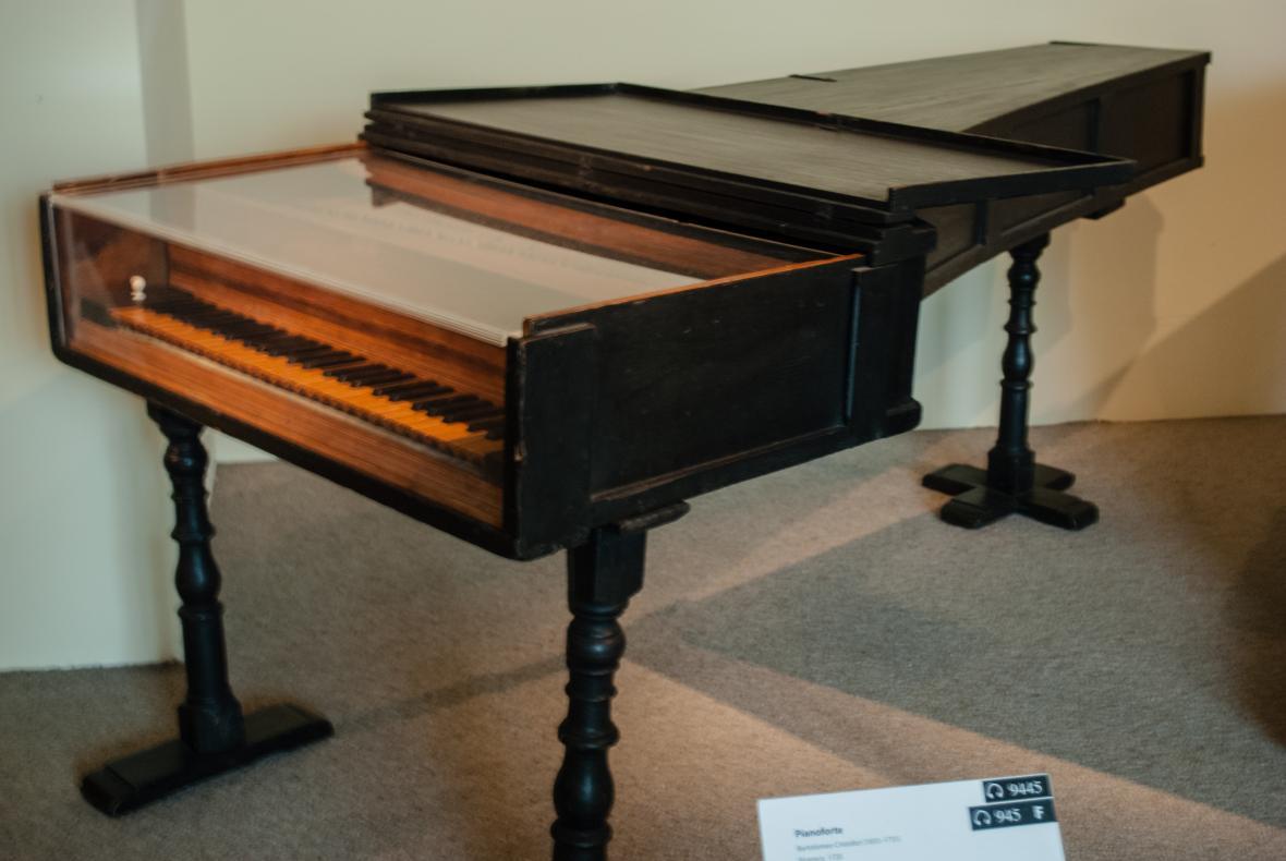 Fortepiano z roku 1720