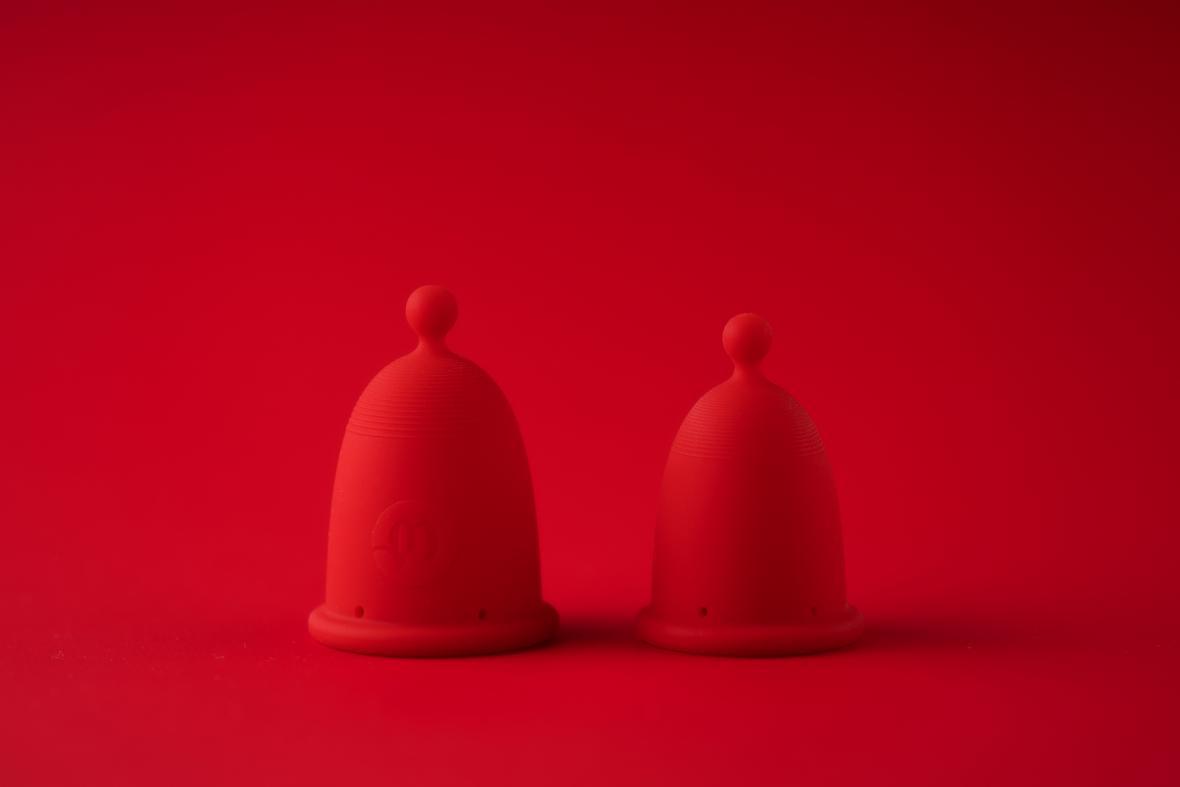 Menstruační kalíšek (Anna Marešová)
