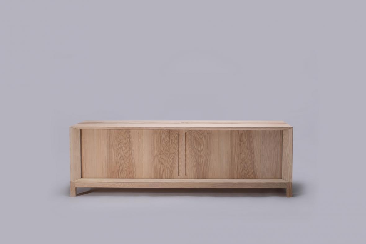 skříňka Roletta navržená pro FUTURO (Herrmann & Coufal)