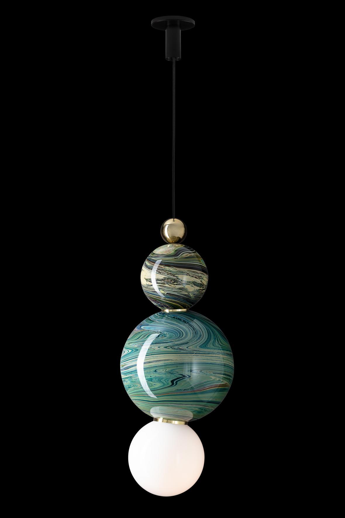 Svítidlo Eclipse Pendant (design: Spacey, výrobce: Lasvit)