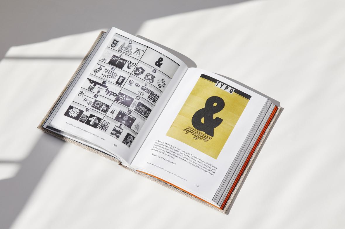 Kniha Clara / Clara Istlerová, práce a život (grafický design: Anežka Minaříková)