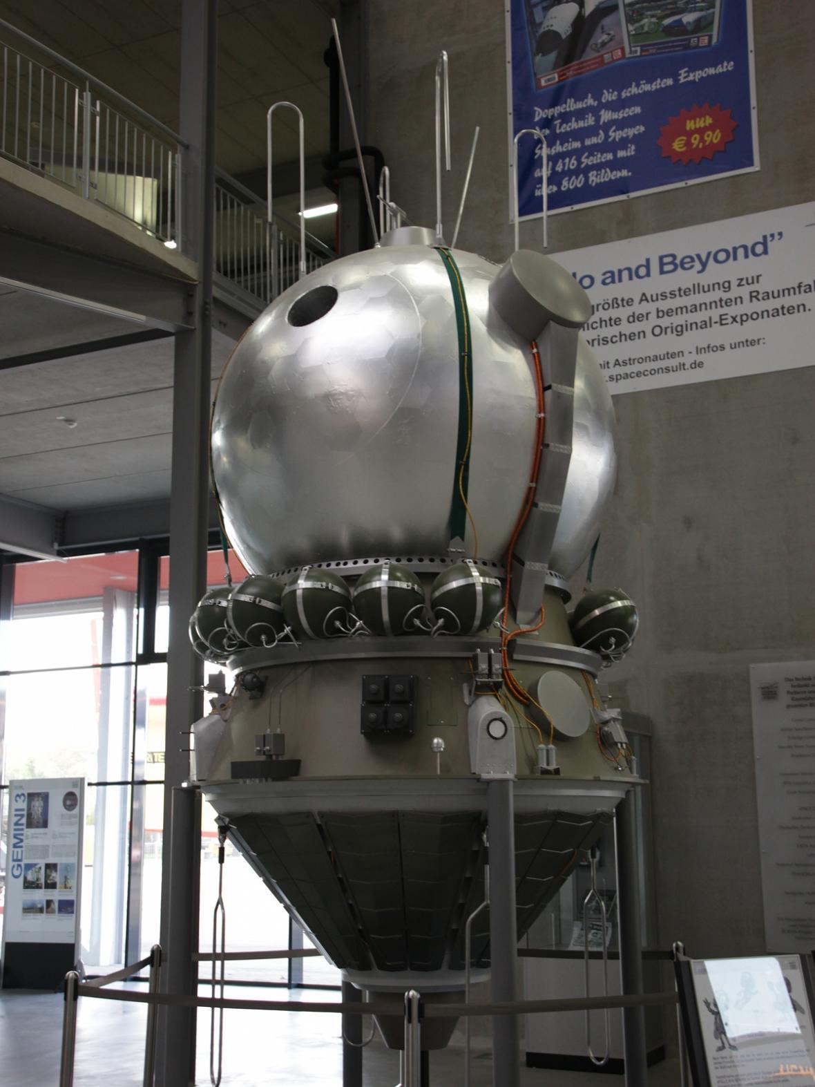 Replika kosmické lodi Vostok