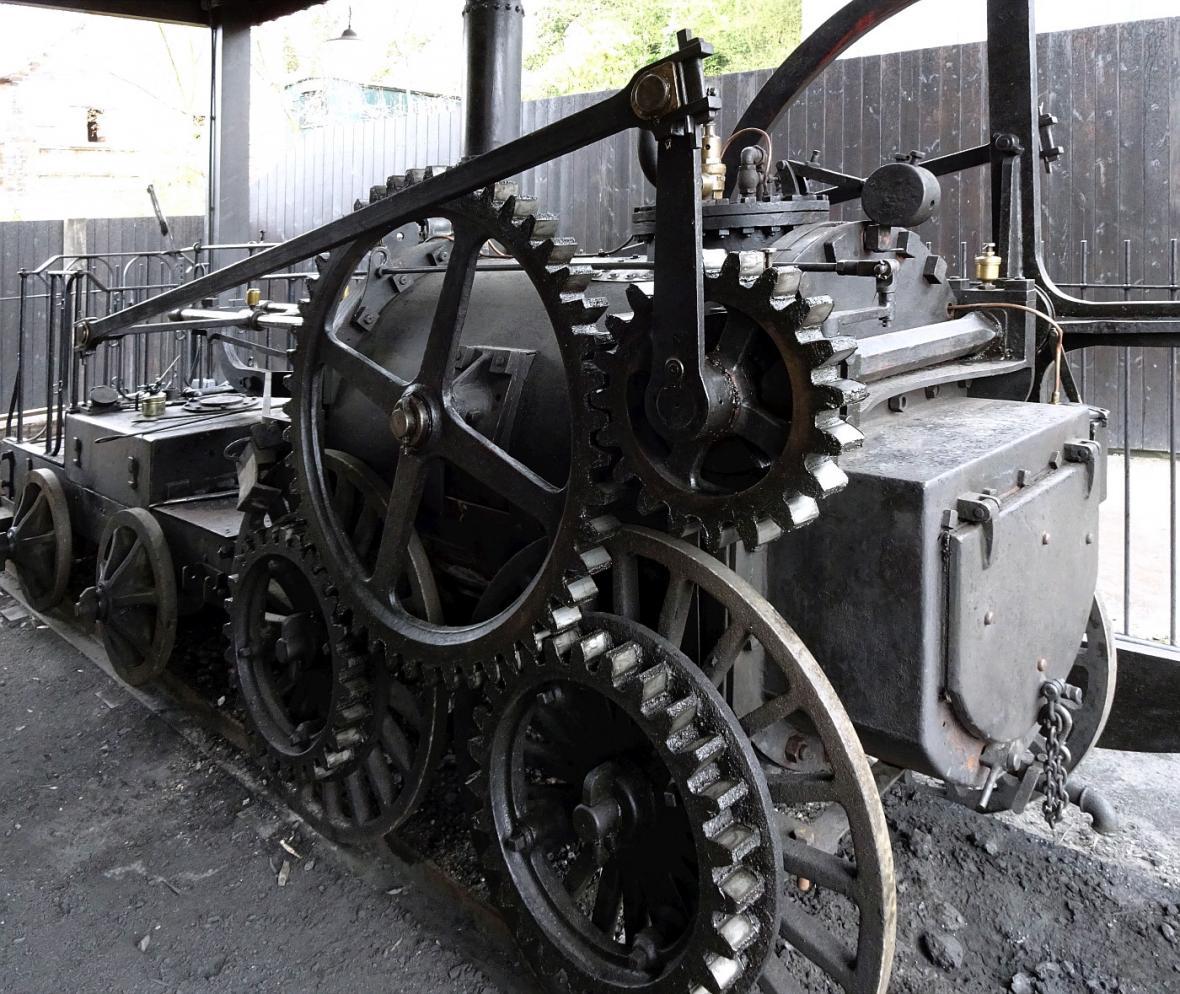 Parní stroj Richarda Trevithicka