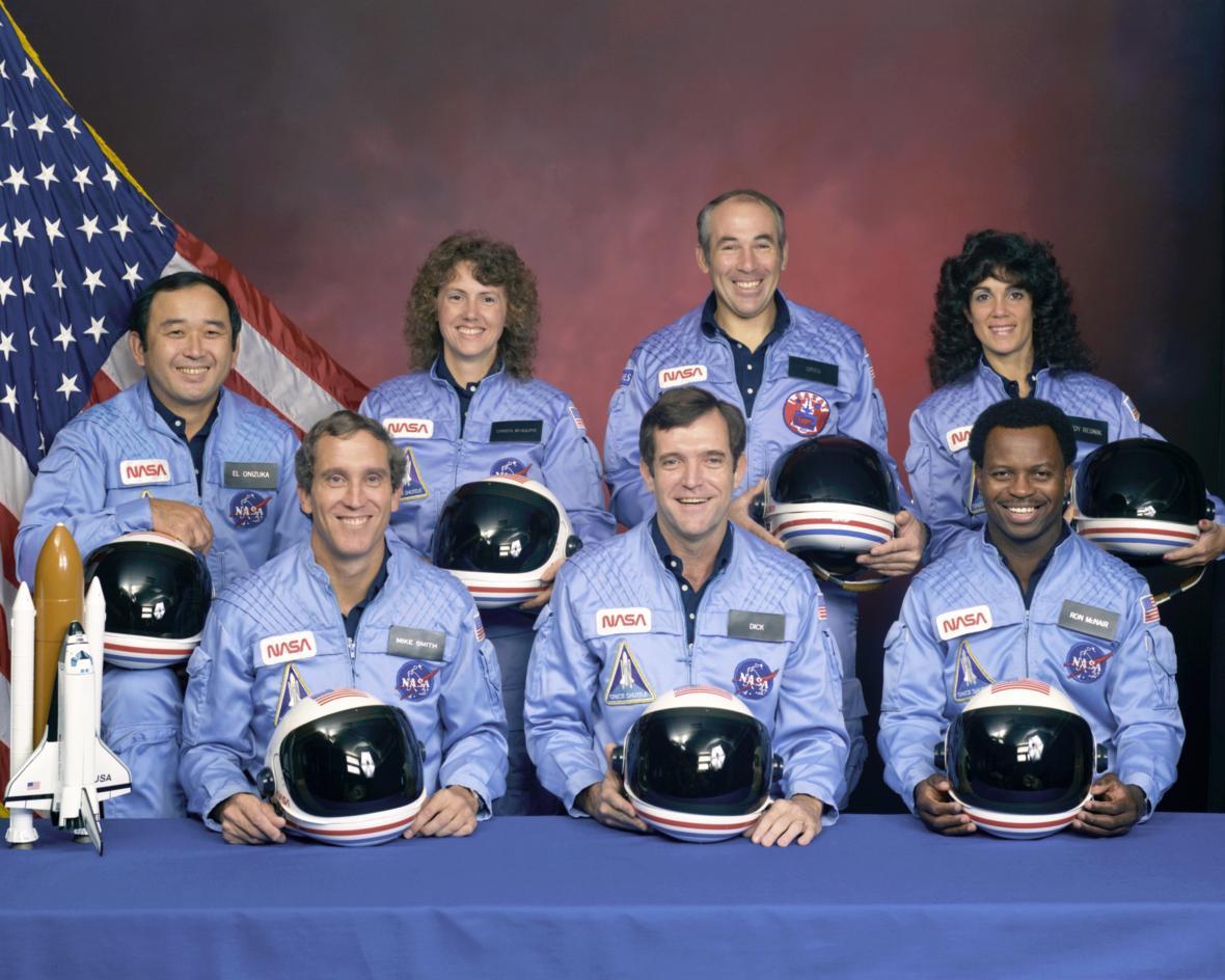 Posádka raketoplánu Challenger