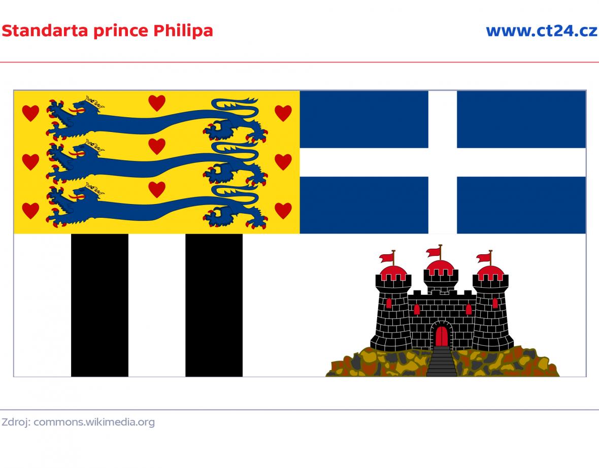 Standarda prince Philipa