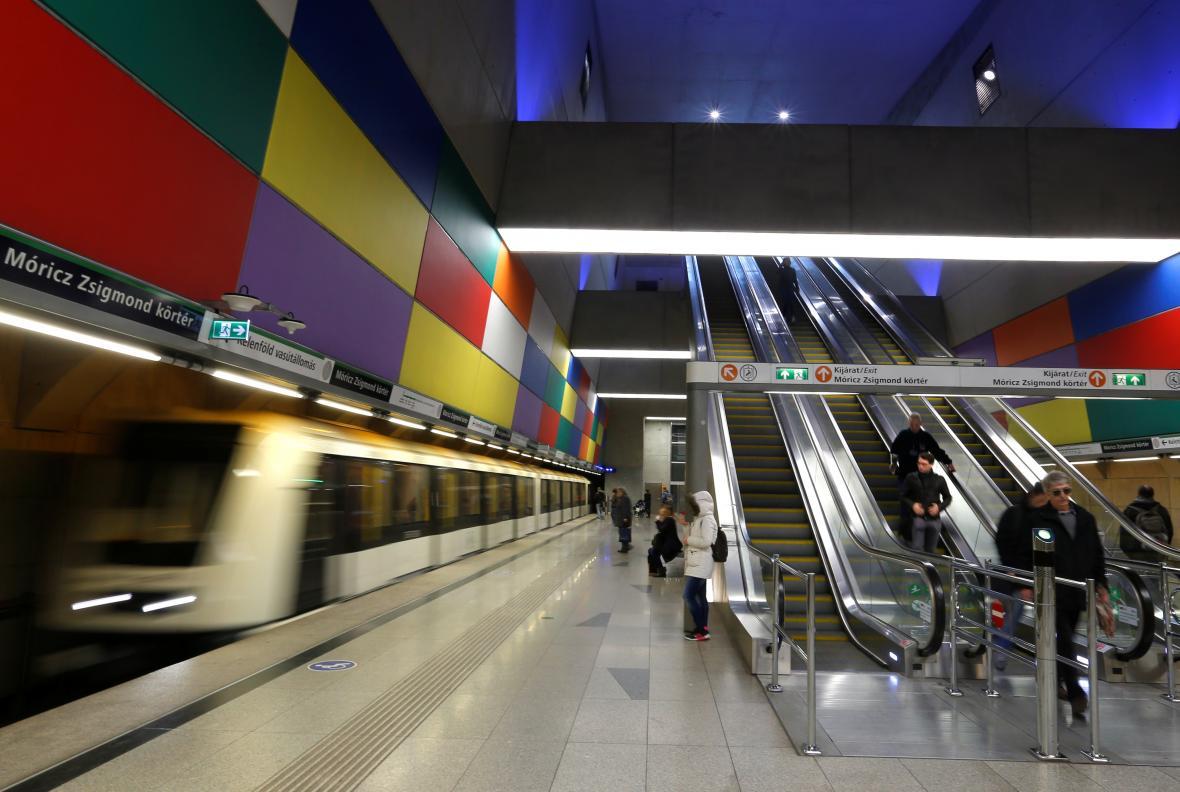Stanice nejnovější linky M4