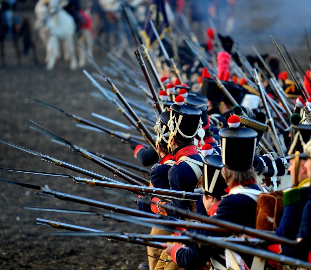 U Slavkova bojovalo as 160 tisíc vojáků