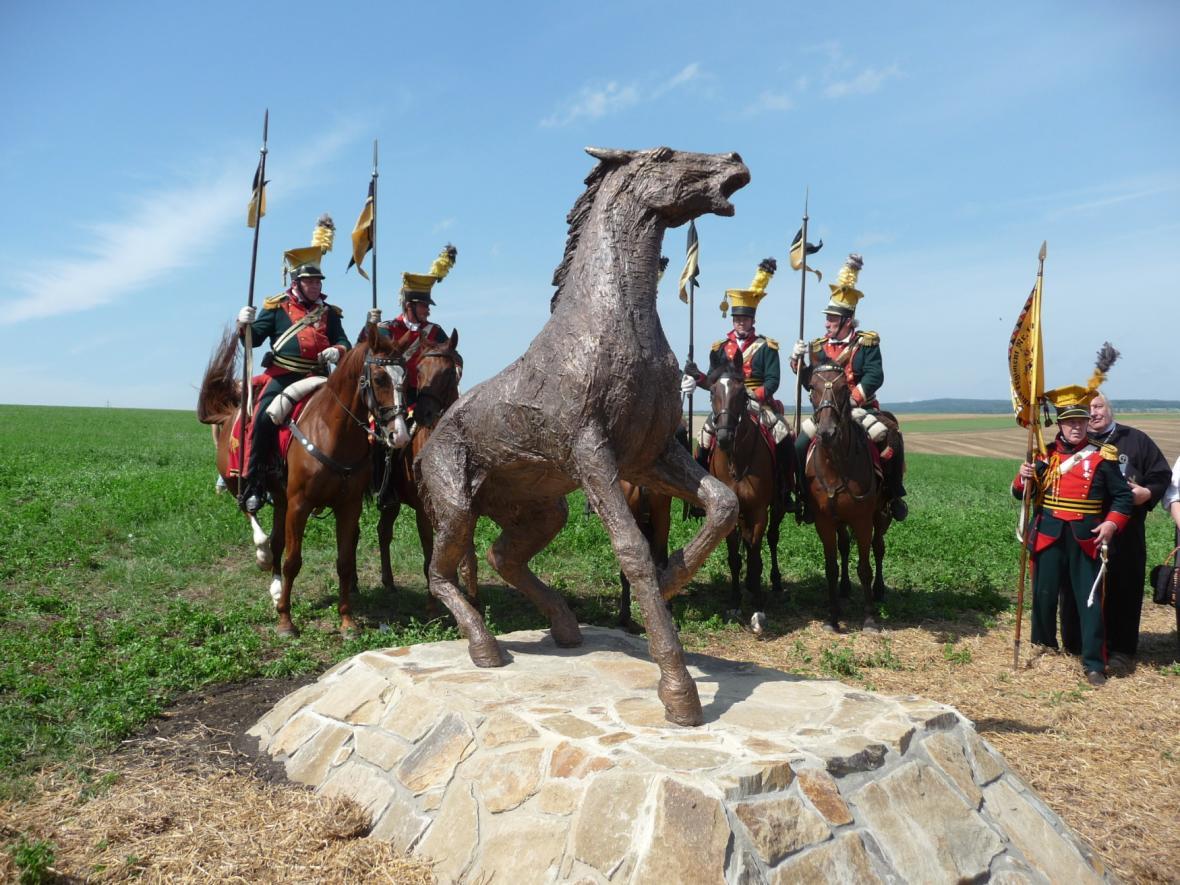 Pomník zabitým koním v bitvě u Slavkova