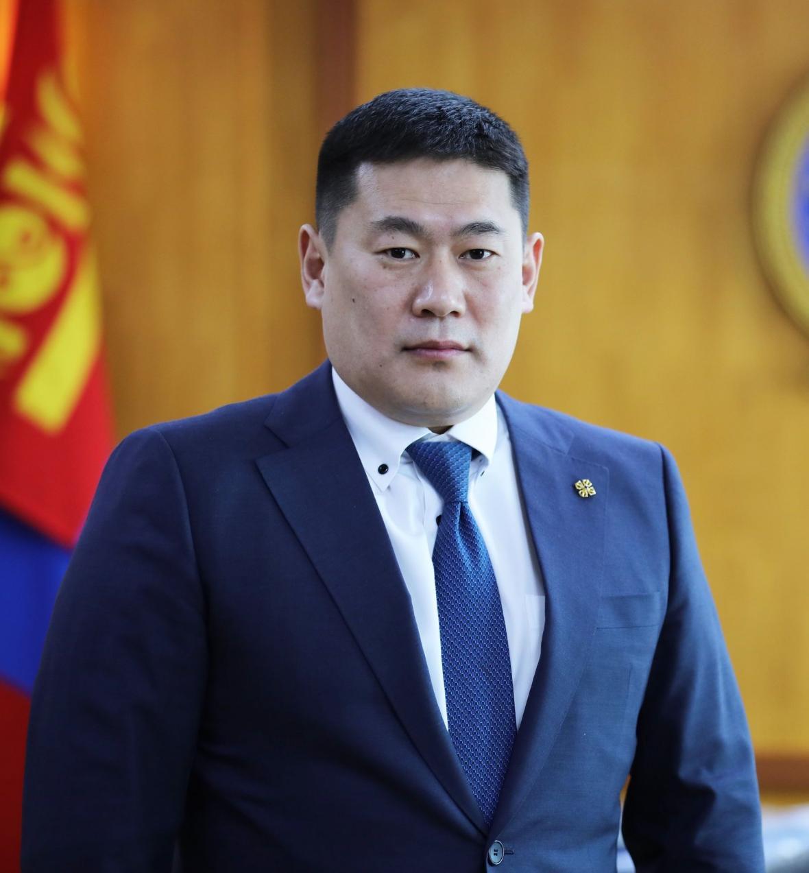 Mongolský premiér  Luvsannamsrai Oyun-Erdene