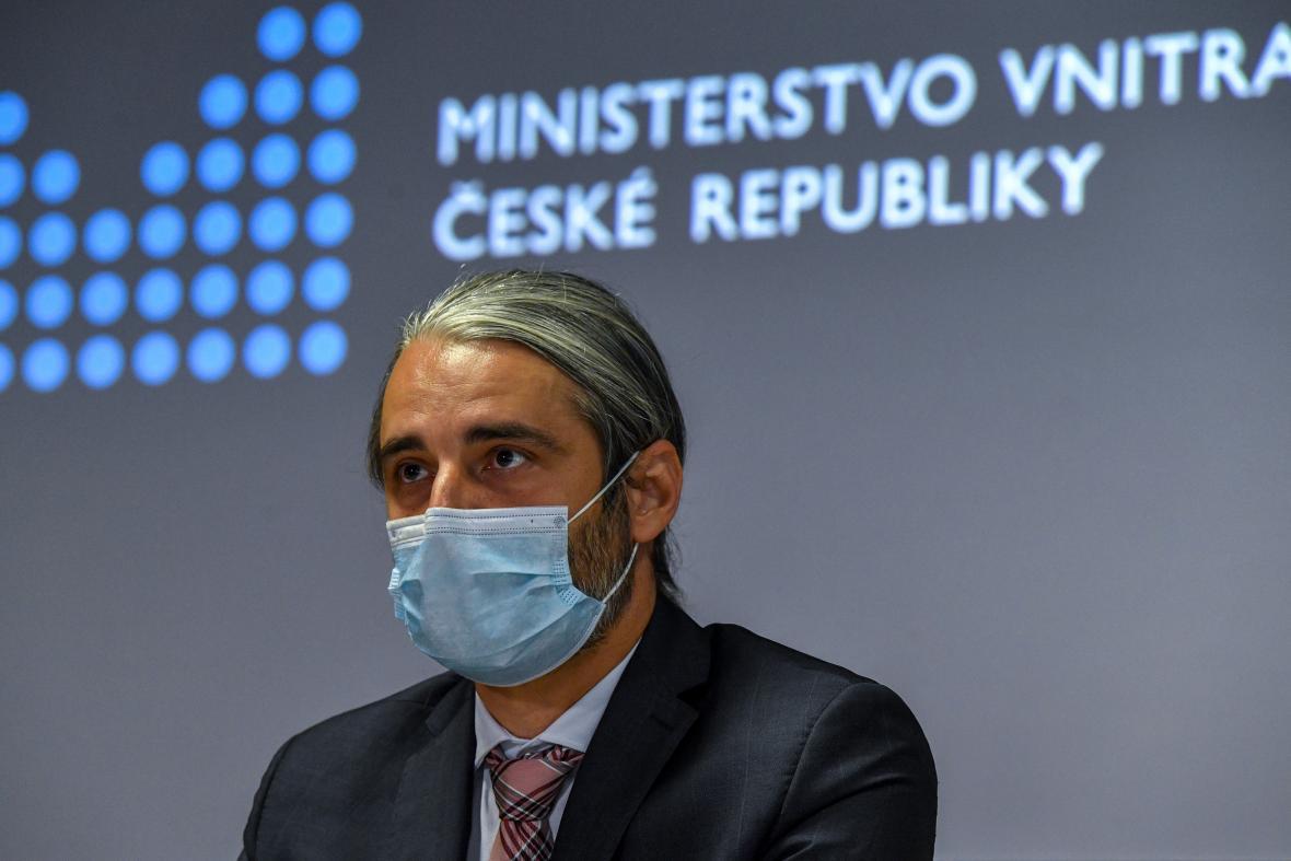 Nový náměstek ministra vnitra Petr Vokáč