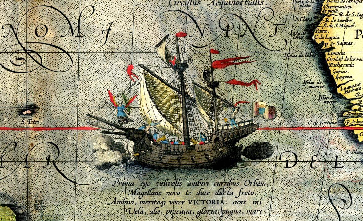 Jako jediná se z flotily vrátila loď Victoria