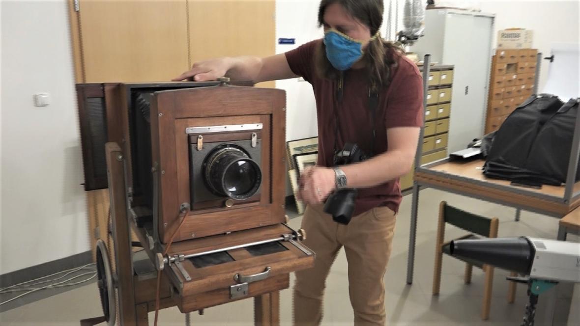 Projekt začal historický fotoaparát