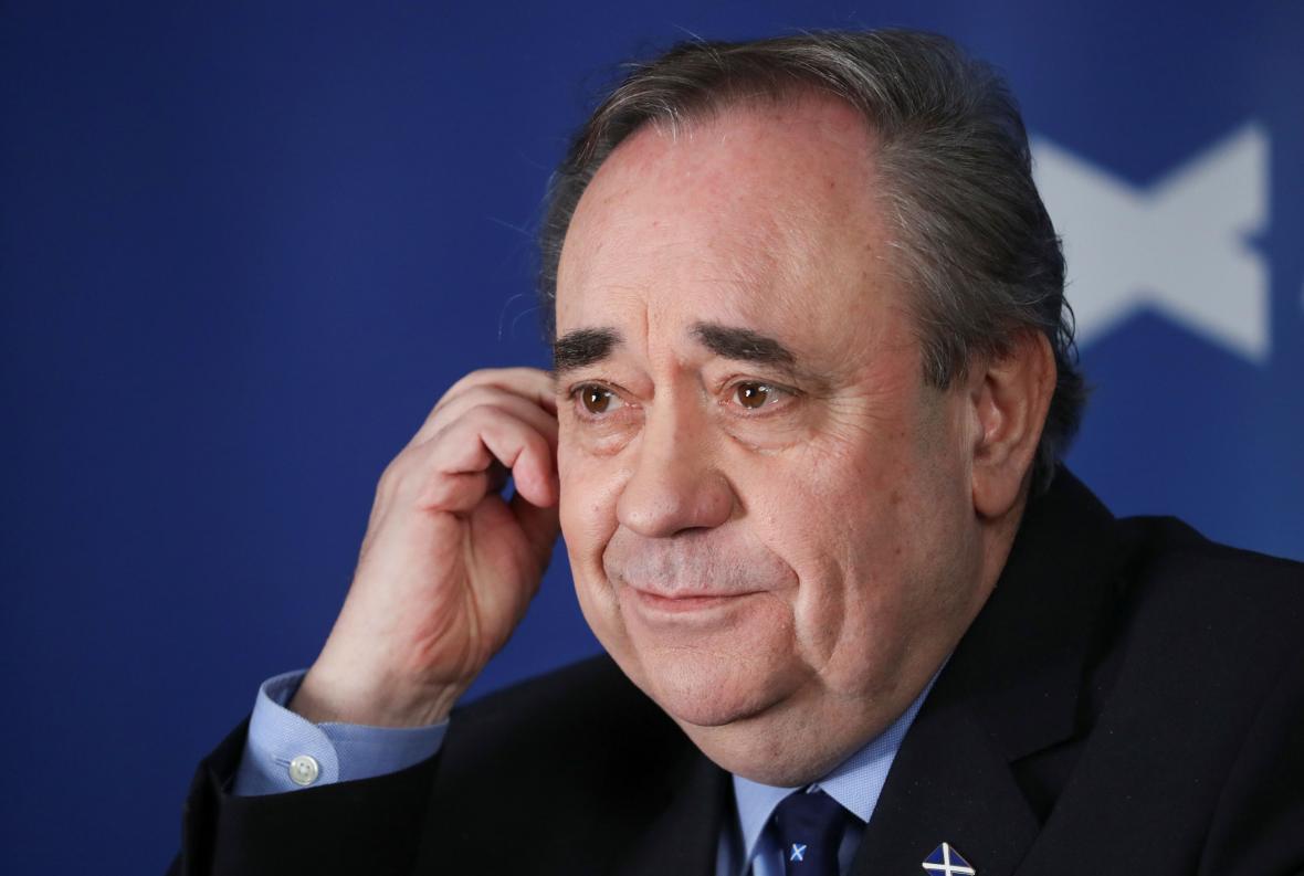 Alex Salmond se svou Albou nejspíš neprorazí