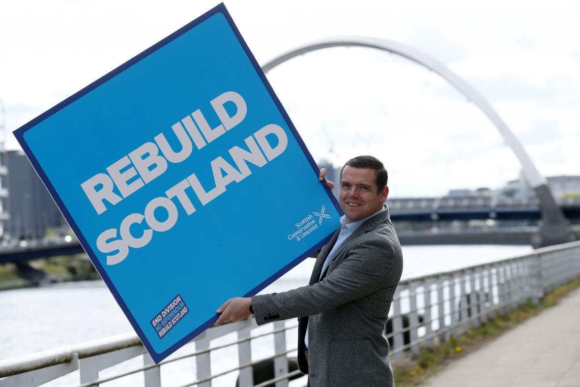Šéf skotských konzervativců Douglas Ross