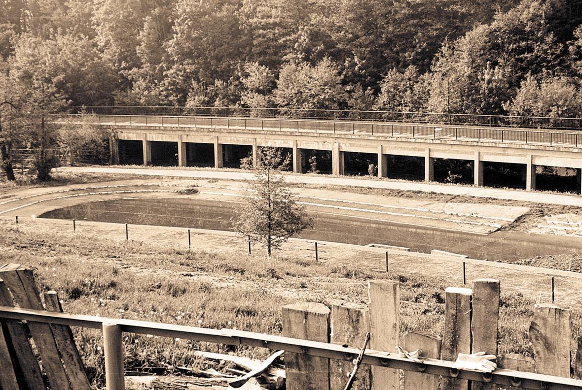 Centrální zimoviště (rok 1975)