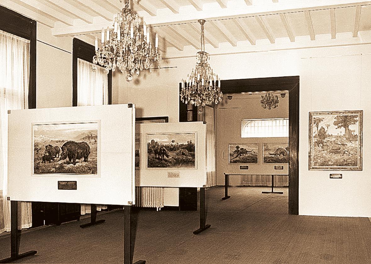 Galerie obrazů Zdeňka Buriana (rok 1983)