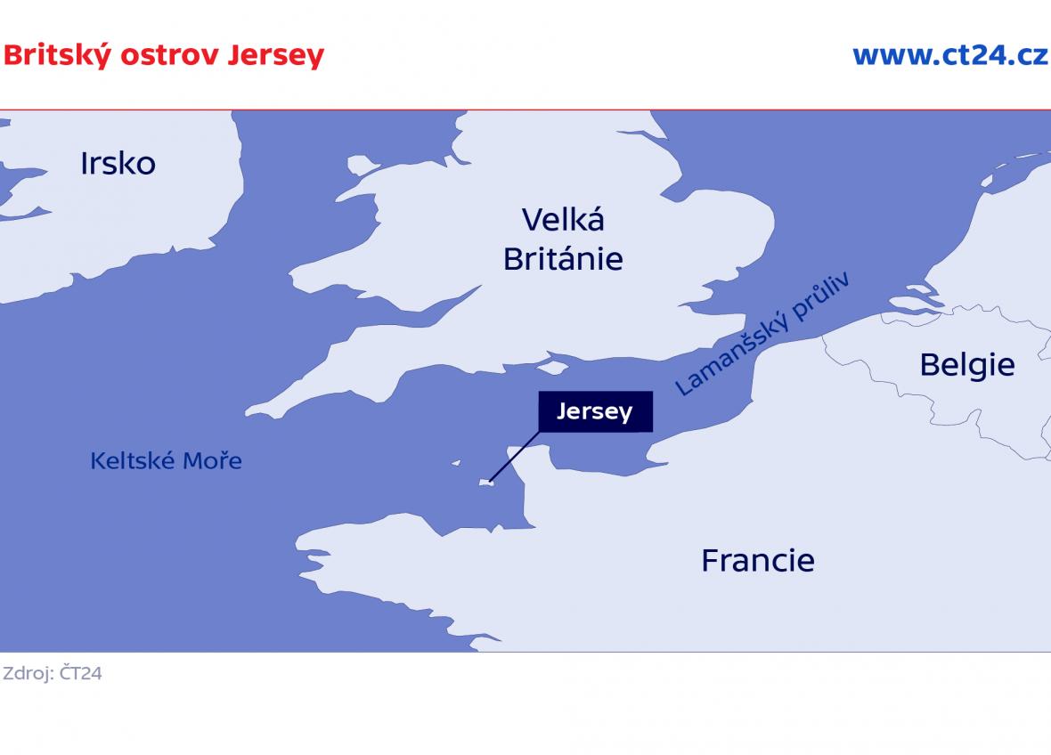Britský ostrov Jersey