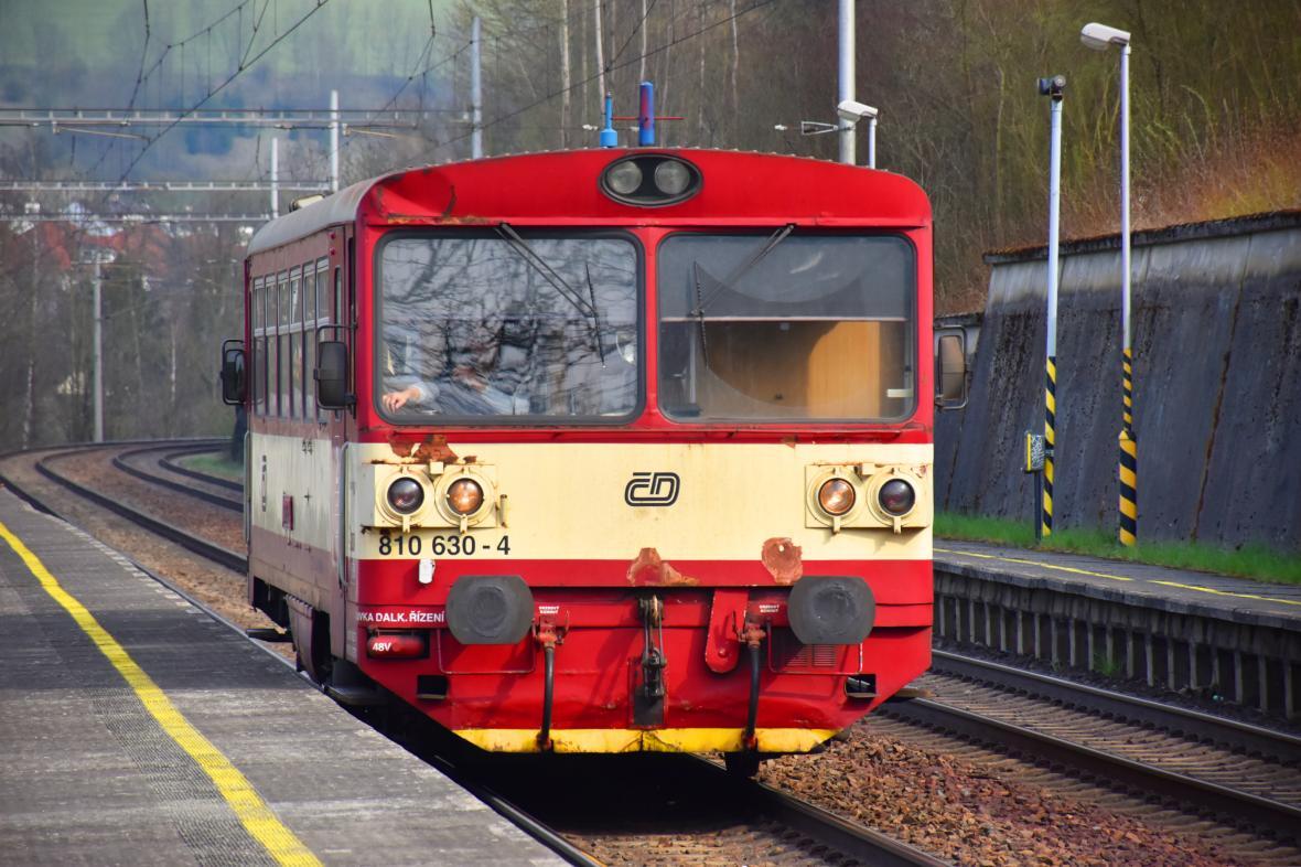 Osobní vlak Českých drah
