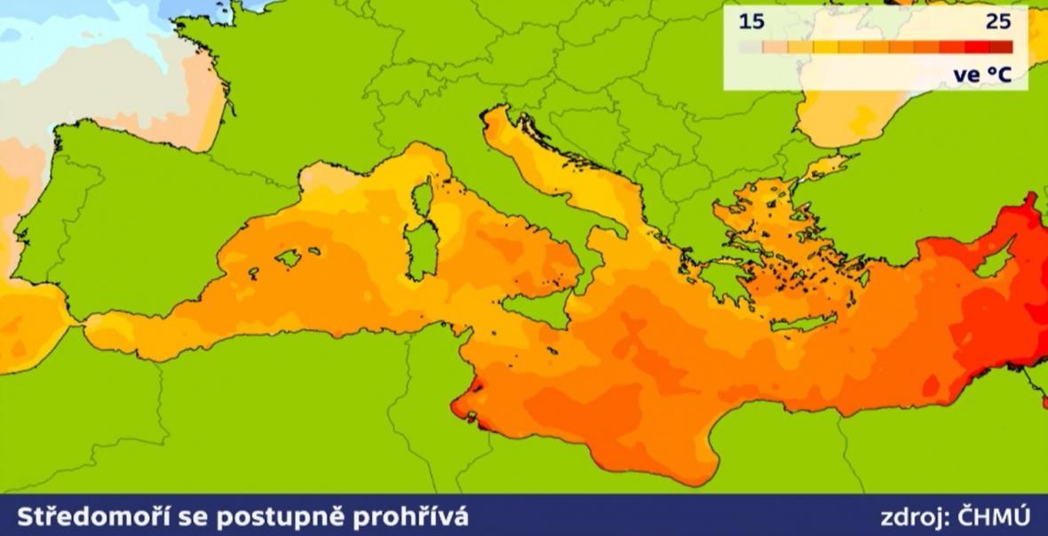 Teploty Středomoří