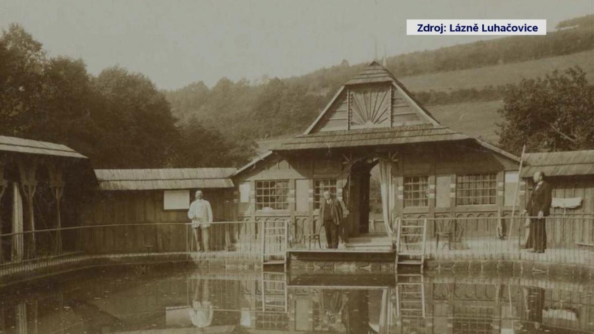 Sluneční lázně postavil architekt Dušan Jurkovič